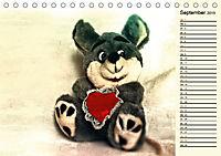 Ein Teddybär und seine Freunde (Tischkalender 2019 DIN A5 quer) - Produktdetailbild 9