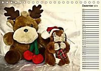 Ein Teddybär und seine Freunde (Tischkalender 2019 DIN A5 quer) - Produktdetailbild 12