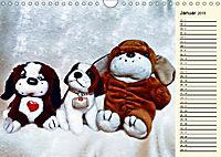 Ein Teddybär und seine Freunde (Wandkalender 2019 DIN A4 quer) - Produktdetailbild 1