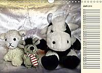 Ein Teddybär und seine Freunde (Wandkalender 2019 DIN A4 quer) - Produktdetailbild 6