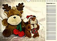 Ein Teddybär und seine Freunde (Wandkalender 2019 DIN A4 quer) - Produktdetailbild 12