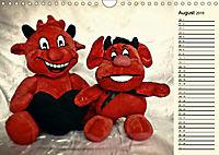 Ein Teddybär und seine Freunde (Wandkalender 2019 DIN A4 quer) - Produktdetailbild 8