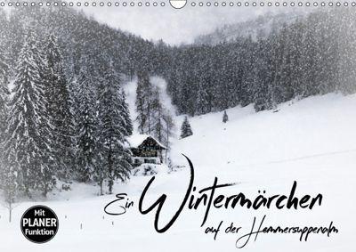 Ein Wintermärchen auf der Hemmersuppenalm (Wandkalender 2019 DIN A3 quer), Melanie Viola
