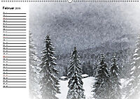 Ein Wintermärchen auf der Hemmersuppenalm (Wandkalender 2019 DIN A2 quer) - Produktdetailbild 2