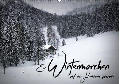 Ein Wintermärchen auf der Hemmersuppenalm (Wandkalender 2019 DIN A2 quer), Melanie Viola