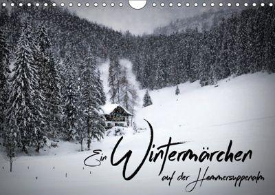 Ein Wintermärchen auf der Hemmersuppenalm (Wandkalender 2019 DIN A4 quer), Melanie Viola