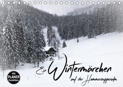 Ein Wintermärchen auf der Hemmersuppenalm (Tischkalender 2019 DIN A5 quer), Melanie Viola