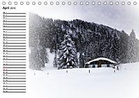 Ein Wintermärchen auf der Hemmersuppenalm (Tischkalender 2019 DIN A5 quer) - Produktdetailbild 4
