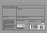 Einblicke in die Welt der Säger (Tischkalender 2019 DIN A5 quer) - Produktdetailbild 13