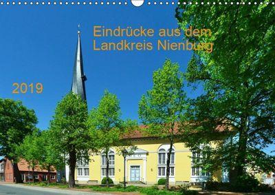 Eindrücke aus dem Landkreis Nienburg (Wandkalender 2019 DIN A3 quer), Heinz Wösten