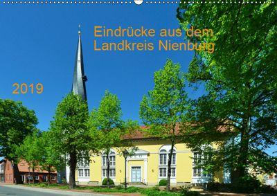 Eindrücke aus dem Landkreis Nienburg (Wandkalender 2019 DIN A2 quer), Heinz Wösten