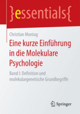 Eine kurze Einführung in die Molekulare Psychologie, Christian Montag