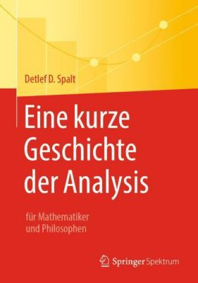 Eine kurze Geschichte der Analysis - Detlef D. Spalt |