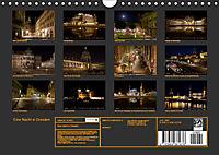 Eine Nacht in Dresden (Wandkalender 2019 DIN A4 quer) - Produktdetailbild 13