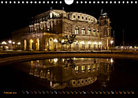 Eine Nacht in Dresden (Wandkalender 2019 DIN A4 quer) - Produktdetailbild 2