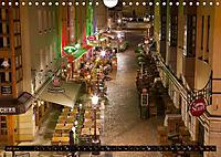 Eine Nacht in Dresden (Wandkalender 2019 DIN A4 quer) - Produktdetailbild 7