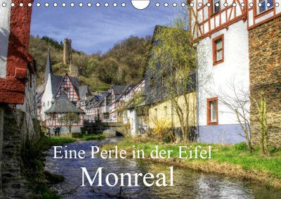 Eine Perle in der Eifel - Monreal (Wandkalender 2019 DIN A4 quer), Arno Klatt