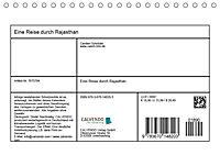 Eine Reise durch Rajasthan (Tischkalender 2019 DIN A5 quer) - Produktdetailbild 2