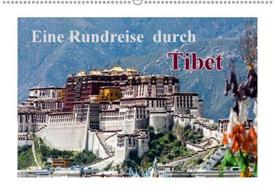 Eine Rundreise durch Tibet (Wandkalender 2019 DIN A2 quer), Frank BAUMERT