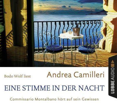 Eine Stimme in der Nacht, 4 Audio-CDs, Andrea Camilleri