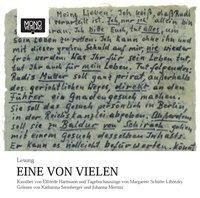 Eine von vielen, 1 Audio-CD, Elfriede Hartmann, Margarete Schütte-Lihotzky