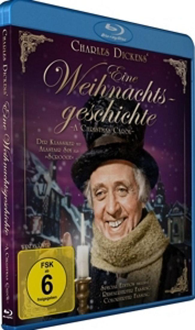 Eine Weihnachtsgeschichte Charles Dickens Blu-ray | Weltbild.de