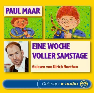 Eine Woche voller Samstage, 3 Audio-CDs, Paul Maar