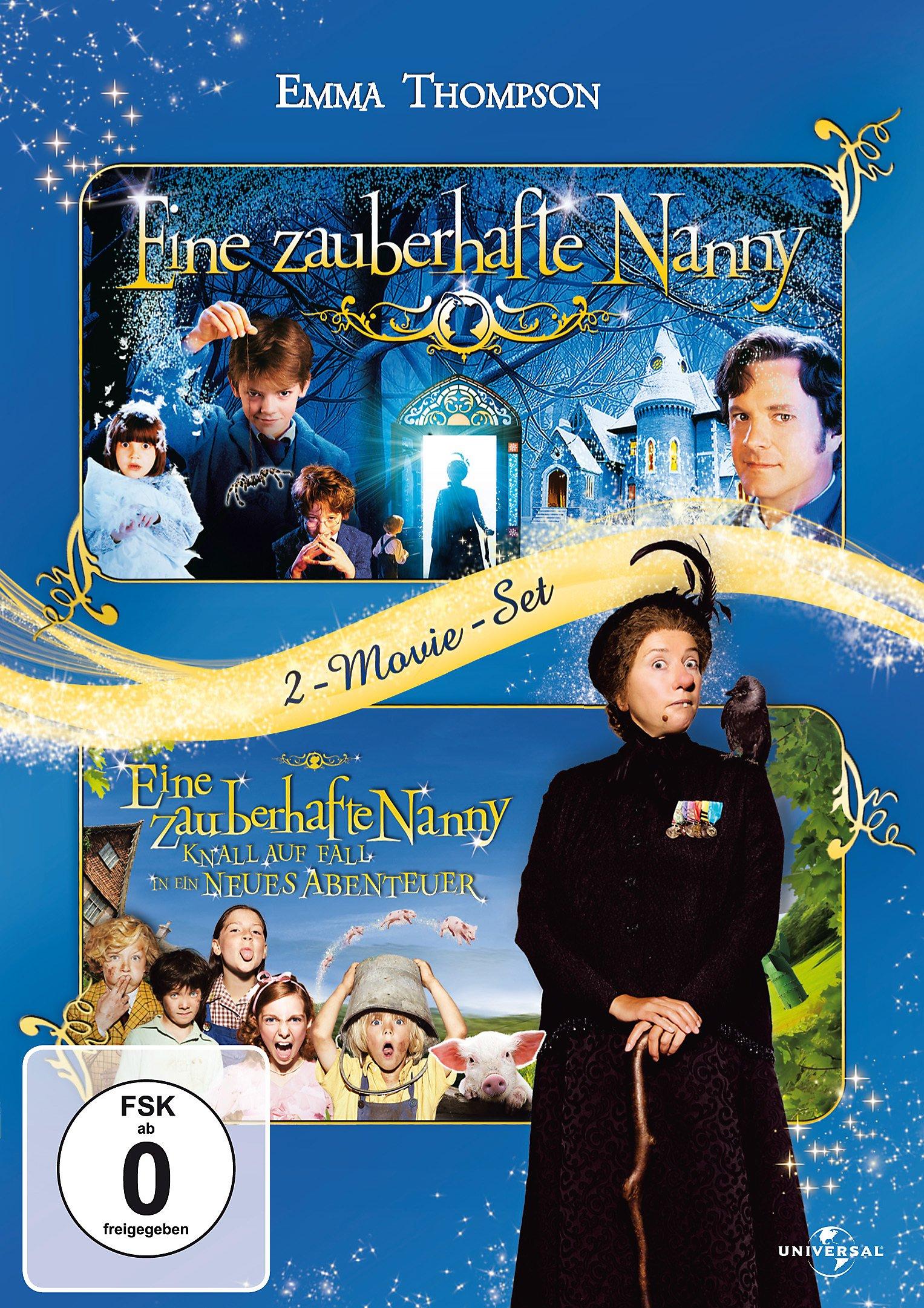 eine zauberhafte nanny 1 2 dvd bei weltbild de bestellen