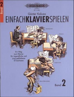 Einfach Klavier spielen, Günter Kaluza