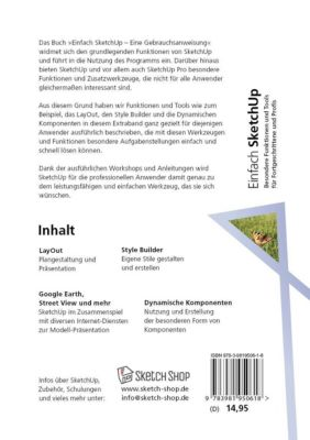 Einfach SketchUp, Ebba Steffens, Holger Faust
