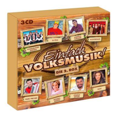 Einfach Volksmusik - Die 2. Box (3 CDs), Diverse Interpreten