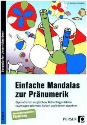 Einfache Mandalas zur Pränumerik, Monika Konkow, Annika Konkow