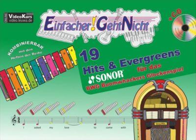 Einfacher!-Geht-Nicht: 19 Hits & Evergreens - für das SONOR BWG Boomwhackers Glockenspiel, m. 1 Audio-CD, Martin Leuchtner, Bruno Waizmann