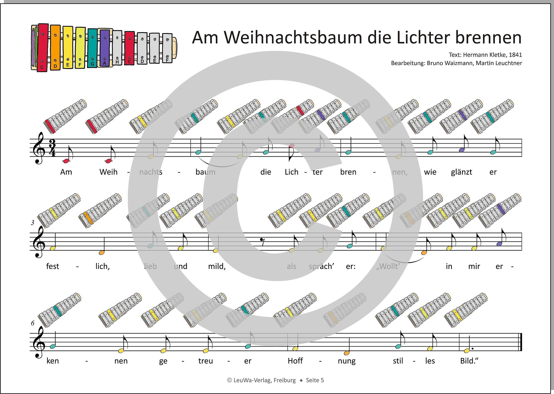 Einfacher!-Geht-Nicht: 24 Weihnachtslieder für das SONOR BWG ...