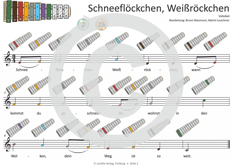 Weihnachtslieder Noten Für Glockenspiel.Einfacher Geht Nicht Weihnachtslieder Für Das Sonor Gs Kinder