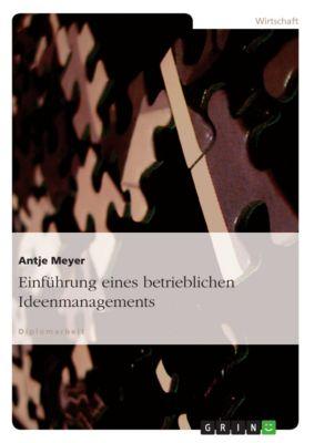 Einführung eines betrieblichen Ideenmanagements, Antje Meyer