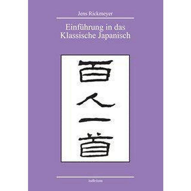Einführung In Das Klassische Japanisch Buch