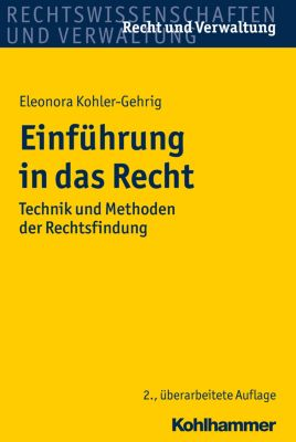 Einführung in das Recht, Eleonora Kohler-Gehrig