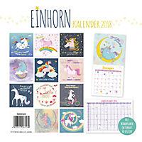 Einhorn Broschurkalender 2018 - Produktdetailbild 15