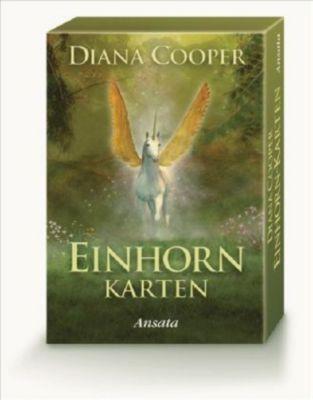 Einhorn-Karten, Orakelkarten, Diana Cooper