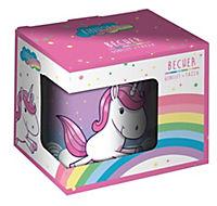 Einhorn Kinderbecher im Geschenkkarton, 200 ml - Produktdetailbild 1