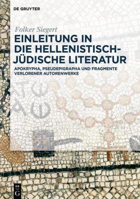Einleitung in die hellenistisch-jüdische Literatur, Folker Siegert
