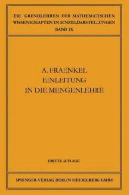 Einleitung in die Mengenlehre, Abraham Adolf Fraenkel