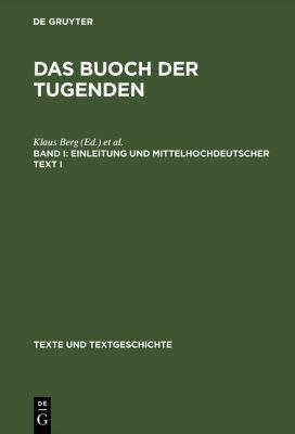 Einleitung und mittelhochdeutscher Text I