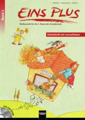 EINS PLUS: .2 Arbeitsheft mit CD-ROM, David Wohlhart, Michael Scharnreitner, Elisa Kleissner