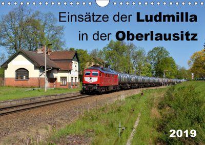 Einsätze der Ludmilla in der Oberlausitz 2019 (Wandkalender 2019 DIN A4 quer), Robert Heinzke