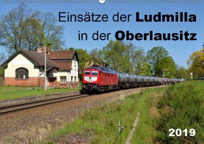 Einsätze der Ludmilla in der Oberlausitz 2019 (Wandkalender 2019 DIN A2 quer), Robert Heinzke