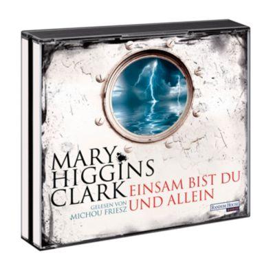 Einsam bist du und allein, 6 Audio-CDs, Mary Higgins Clark