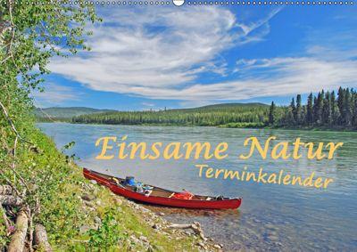Einsame Natur - Terminkalender (Wandkalender 2019 DIN A2 quer), Anita Berger