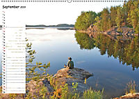 Einsame Natur - Terminkalender (Wandkalender 2019 DIN A2 quer) - Produktdetailbild 9